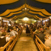 Les petites tentes de l'Oktoberfest
