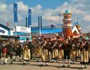The Oktoberfest parade Trachten und Schützenzug