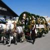 The Wiesn-Einzug der Festwirte und Brauereien parade