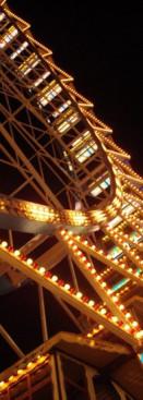 O Parque de diversões da Oktoberfest