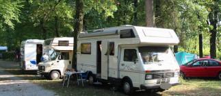 Oktoberfest in camper