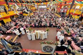 Traditioneller Schausteller-Gottesdienst im Hippodrom