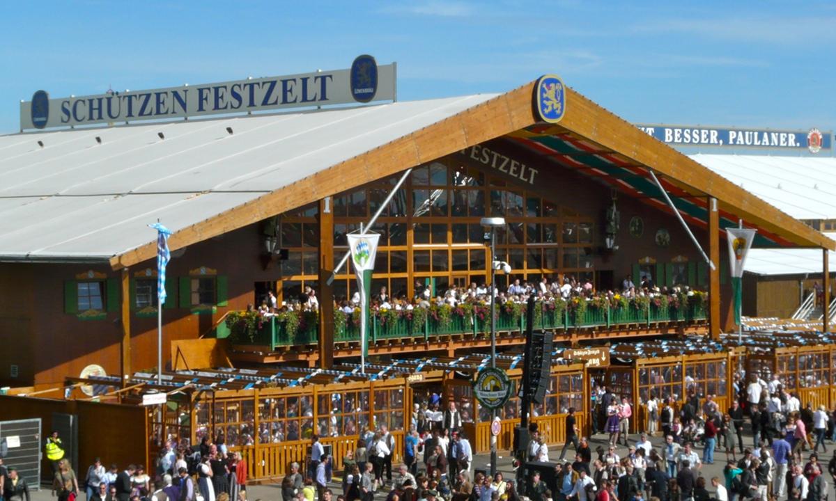 Sch 220 Tzen Festzelt Oktoberfest