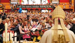 oktoberfest-Traditioneller Schausteller-Gottesdienst